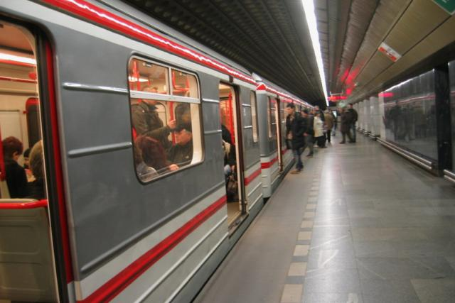 Metro, nástupiště, cestující (ilustrační foto)