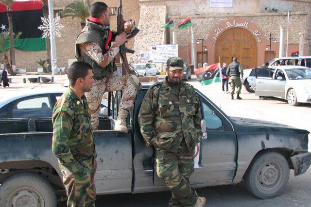 libyjští vojáci