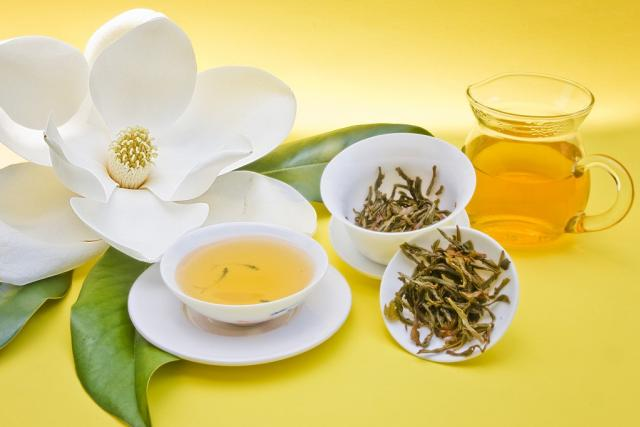 Zelený čaj, ilustrační foto