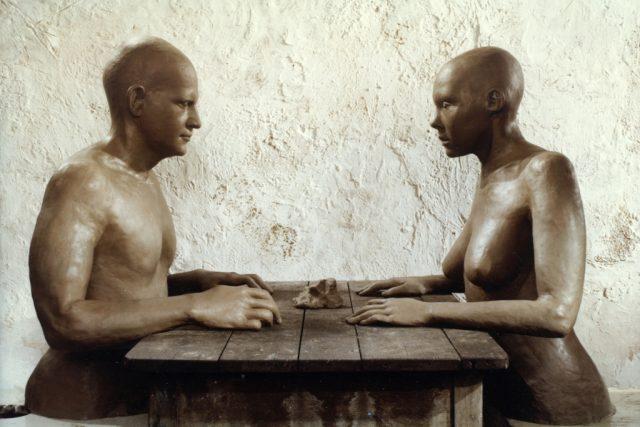 Možnosti dialogu, záběr z filmu, 1982, režie: Jan Švankmajer