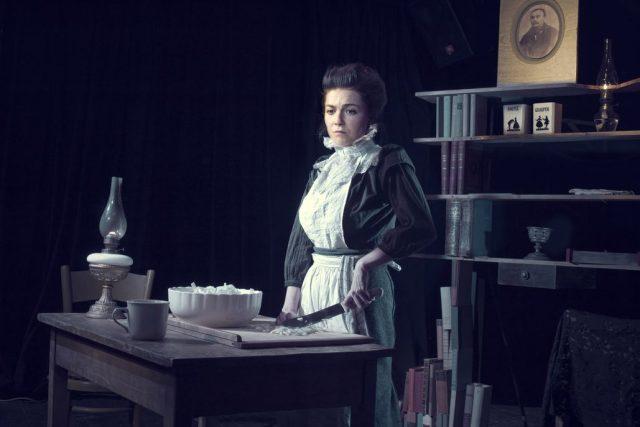 Osamělé večery Dory N. v Divadle Pod Palmovkou; v hlavní roli: Marta Sovová