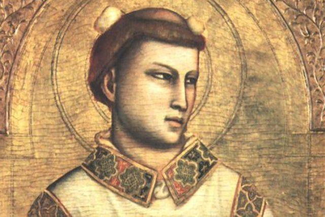 Svatý Štěpán  (autor: Giotto di Bondone)   foto:  Museo Horne