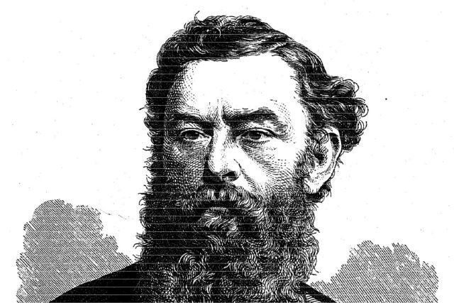 Statkář,  cukrovarník a politik Josef Macháček  (kresba J. Kriehubera z roku 1870) | foto: Wikipedia,  public domain - volné dílo