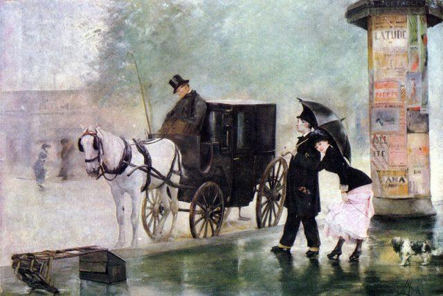 Luděk Marold: Drožkář  (1891) | foto: Wikipedia,  public domain - volné dílo