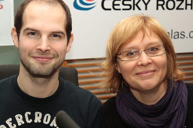 Jan Maxián a Daniela Brůhová   foto: Jan Sklenář
