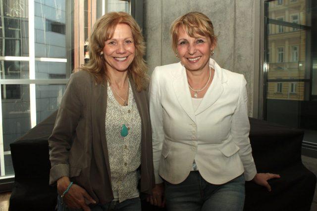 Lenka Filipová a Stanislava Lekešová
