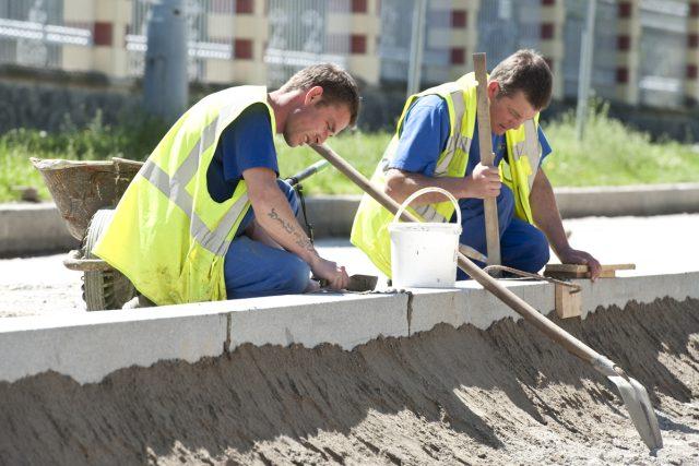 Dělník, řemeslník, práce, stavba (ilustrační foto)