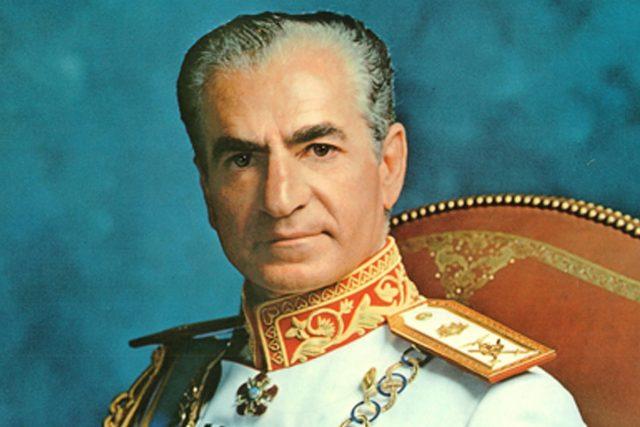 Poslední monarcha na perském trůnu Mohammad Rezá Pahlaví