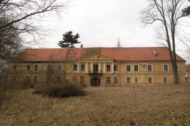 Současný stav zámku v Krasonicích | foto: Kraj Vysočina - Kulturníí a přírodní dědictví