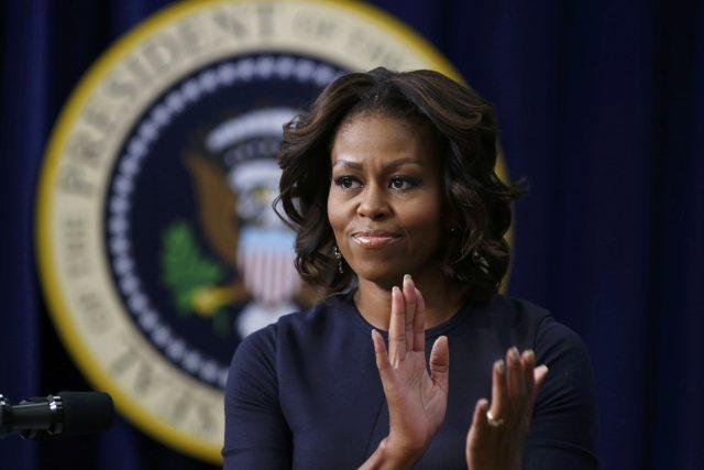 První dáma Spojených států Michelle Obamová