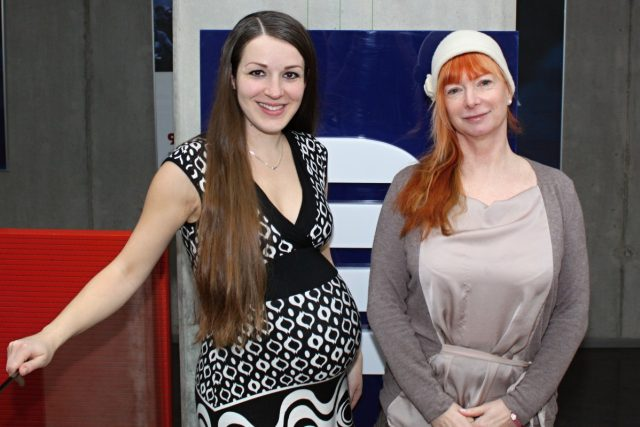 Barbora Štěpánová a Eva Kvasničková