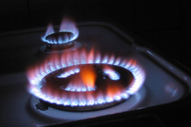 Plynový vařič. Ilustrační foto
