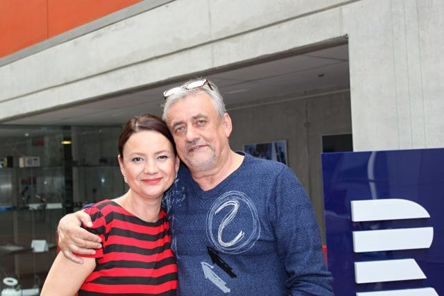 Richard Tesařík a Jolana Voldánová