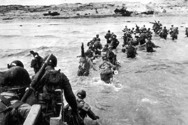 Vylodění Spojenců na pláži Utah