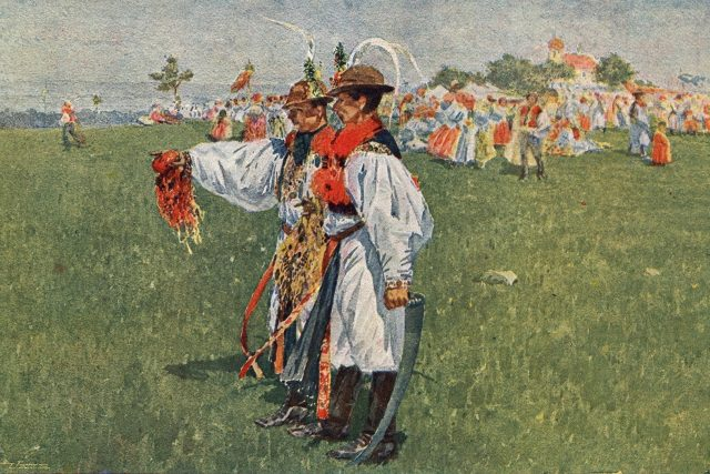 Joža Úprka: Šohajové z Uherského Ostroha  (Předměstí) - ilustrační obrázek | foto: Wikipedia,  public domain - volné dílo