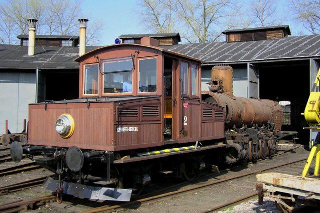 Akumulátorová lokomotiva Ringhoffer | foto: Pavel Černý