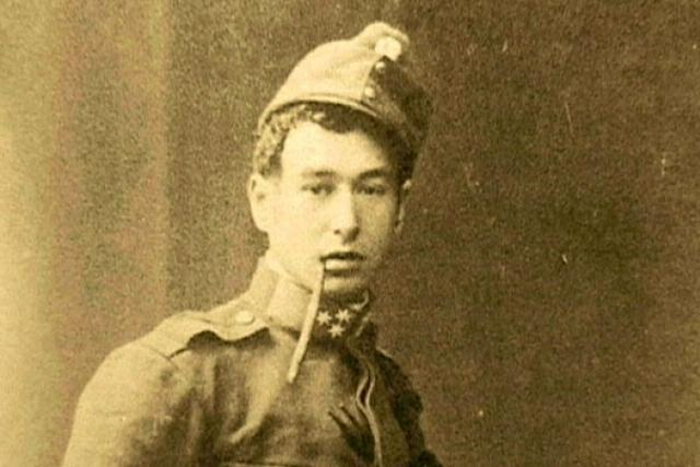 Egon Erwin Kisch v rakouské uniformě