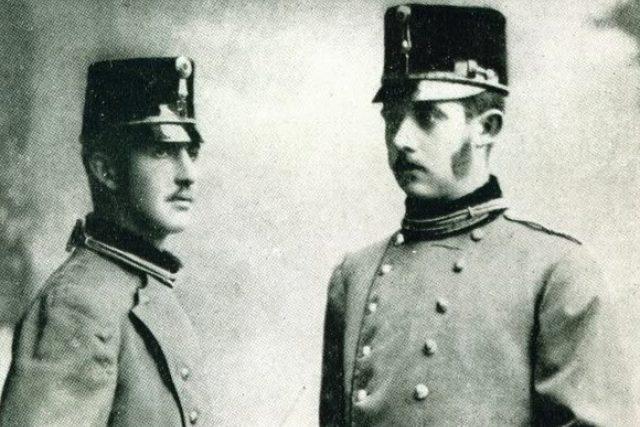 František Ferdinand a jeho bratr Otto   foto:  Elisabeth