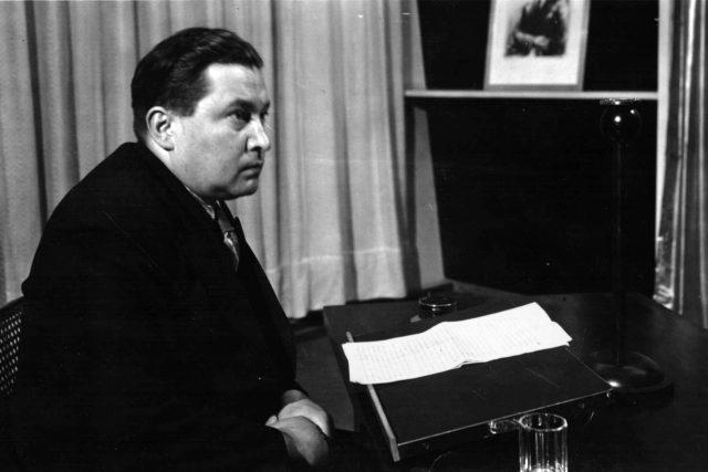 Jaroslav Seifert | foto: Archivní a programové fondy Českého rozhlasu