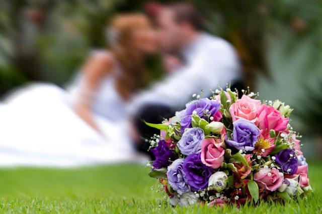 Svatba, manželství, nevěsta, ženich (ilustr. foto)