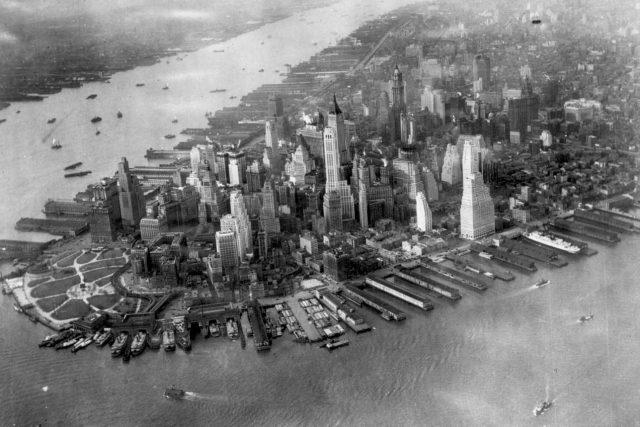 Dolní Manhattan v roce 1931 - ilustrační foto | foto: Wikipedia,  public domain - volné dílo