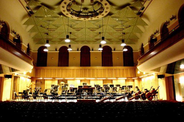 Koncertní sálu Moravské filharmonie Reduta v Olomouci