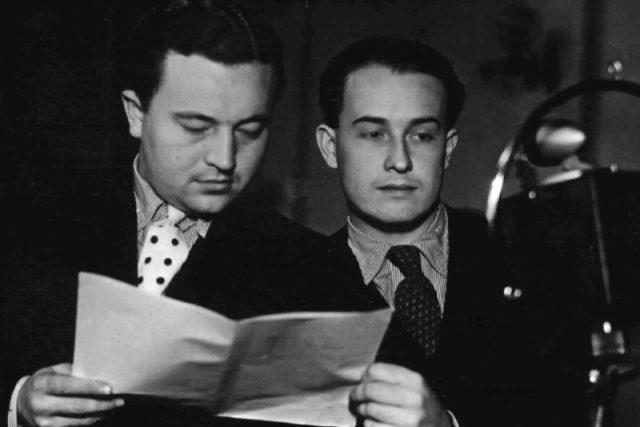 Jan Werich a Jiří Voskovec – Osvobozené divadlo
