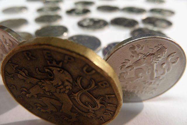 Finance, peníze, mince