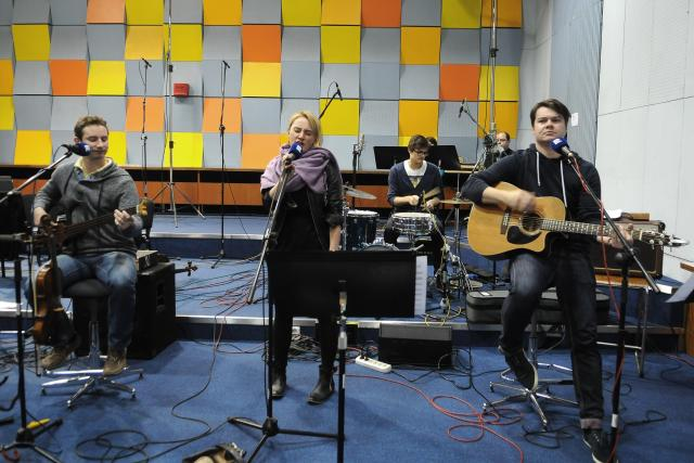 Hudební skupina Jananas, 30. října 2014 ve Studiu A