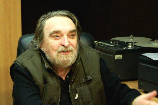 Jaroslav Wykrent ve studiu