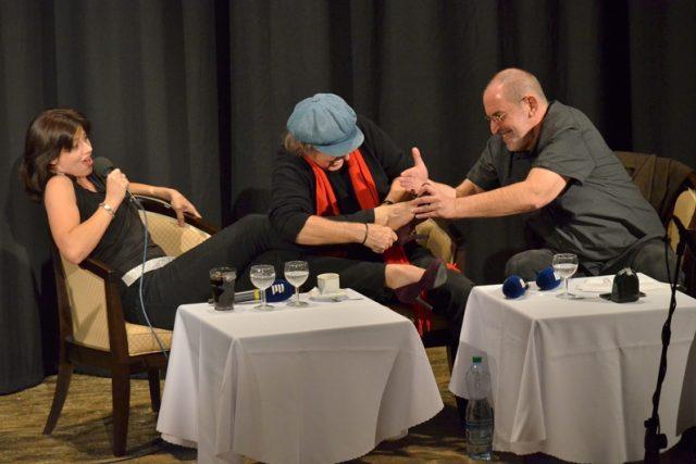 Boris Hybner ukázal i nohy své žačky