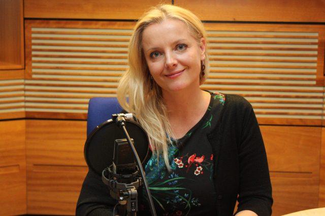 Gabriela Filippi   foto: Adam Kebrt,  Český rozhlas