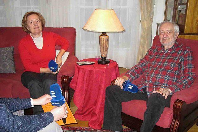 Magda Vášáryová a Milan Lasica. Dlouholetý manželský pár si toho v životě dost zažil. Ale jsou stále šťastní a spolu. A to se taky už jen tak nevidí
