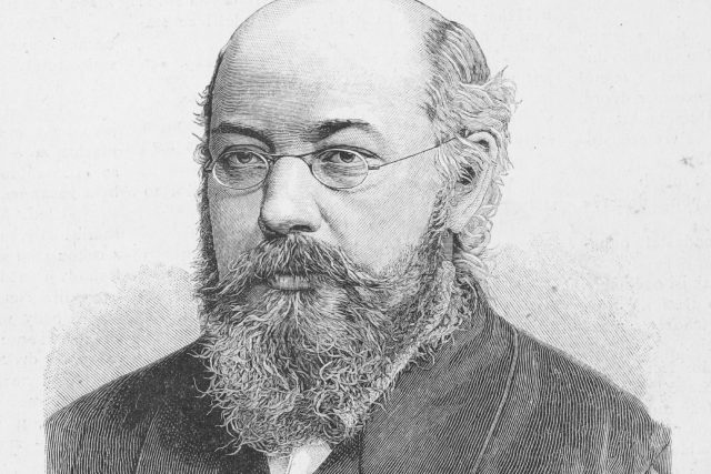 Jakub Arbes   foto: Václav Mára  (1842-1902)