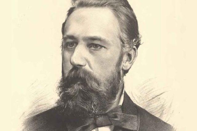 Svatopluk Čech   foto: Jan Vilímek  (1860-1938)