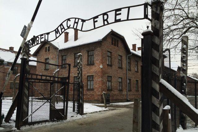 Polsko, Osvětim. Památník na místě nacistického vyhlazovacího tábora