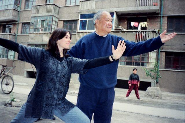 Mistr Yang Zhen Duo a prof. Maria Angela (Čína)
