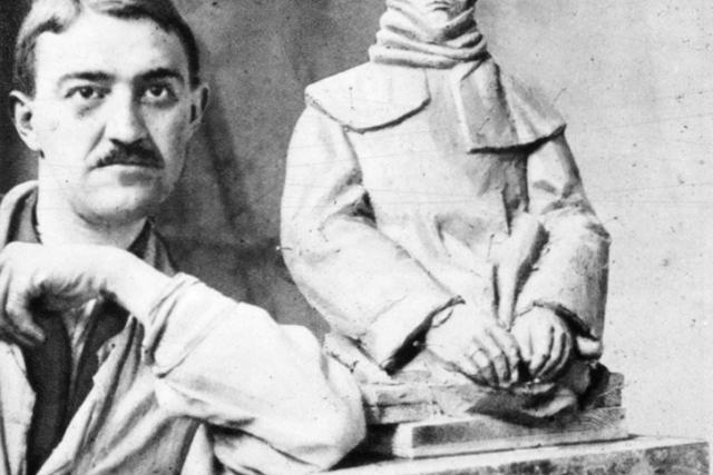 Jan Štursa v roce 1915   foto: Wikipedia,  public domain - volné dílo