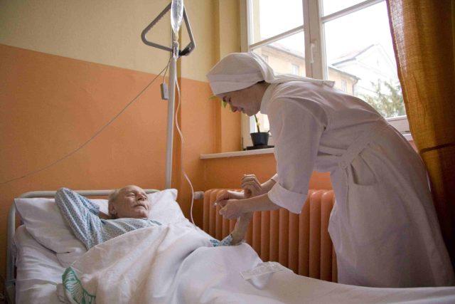 V Nemocnici Milosrdných sester svatého Karla Boromejského v Praze