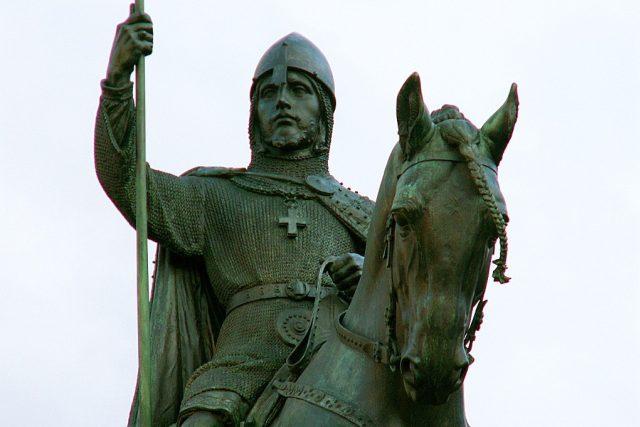 Jezdecká socha svatého Václava v Praze | foto: GNU General Public License,  verze 1.2,  Aleš Tošovský