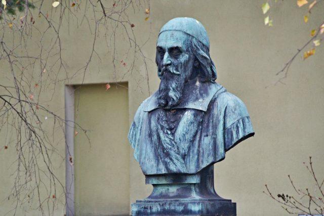 Lešno,  Jan Amos Komenský    foto: Petr Veber,  Český rozhlas