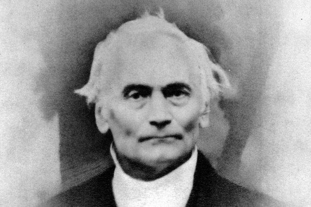 Jan Evangelista Purkyně (fotografie z roku 1860)