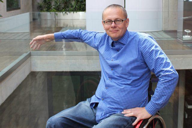 Paralympionik Martin Kovář
