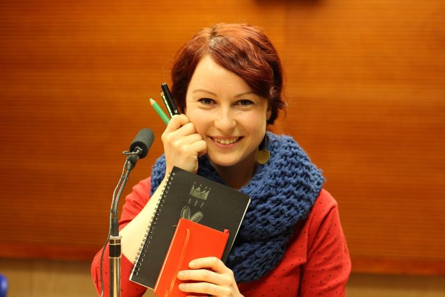 Eliška Chytková,  animátorka | foto: Milan Kopecký,  Český rozhlas