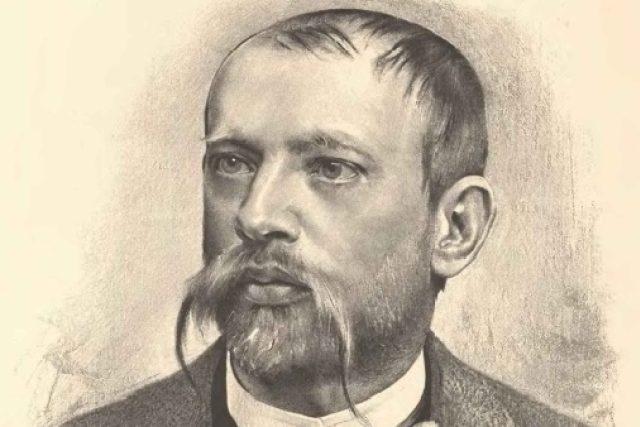 Jan Vilímek: Portrét Jaroslava Vrchlického