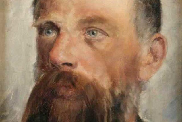 Portrét Jaroslava Vrchlického od Vojtěcha Hynaise