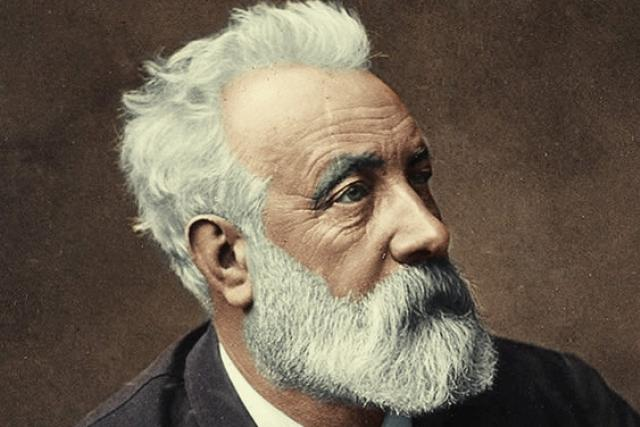 Jules Verne, 1892 (kolorovaný portrét)