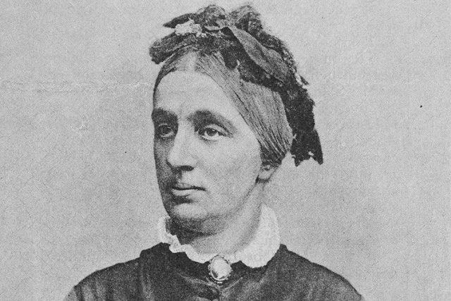 Marie Riegrová-Palacká v roce své smrti  (1891) | foto: Wikipedia,  public domain - volné dílo,  Jindřich Eckert