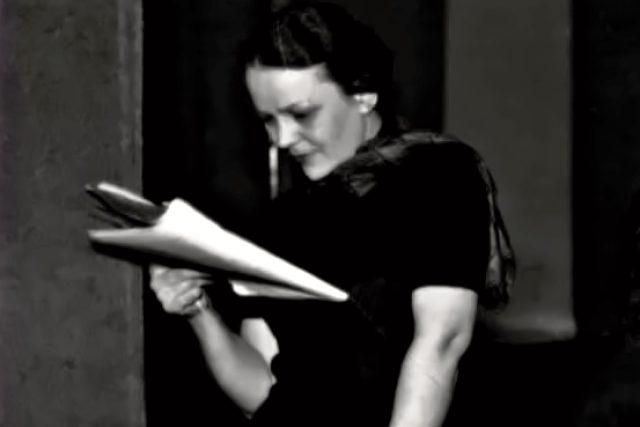 Anna Letenská, herečka, která byla zavražděna nacisty