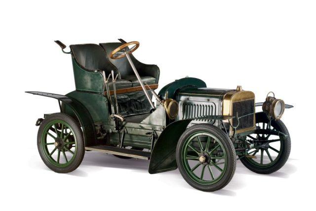 Laurin & Klement voiturette B,  1906 | foto:  Národní technické muzeum
